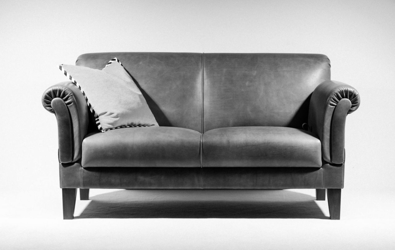Sofa Arthur in Leder